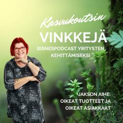 Read more about the article Podcast – Myytko oikeita tuotteita oikeille asiakkaille?